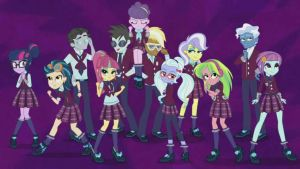 MLP Equestria Girls: Friendship Games: Shadowbolts by mlpcompilation