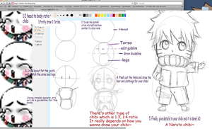 Tutorial 1.3: How to draw Chibis by Ragginess