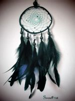 Dreamcatcher black by SuvetarsWell
