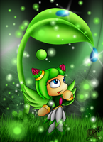 For SonicBoom07 - Little nature fairy by Azurelly
