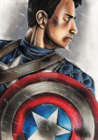 Captain America by MokkunChan