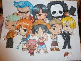 One Piece Commission by dustoflife