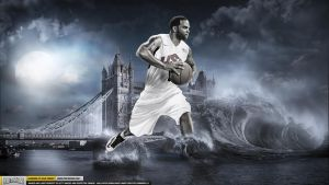 Deron William Team USA Wallpaper by Chadski51