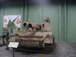 T2S3 152mm Self Propelled Howitzer by benracer