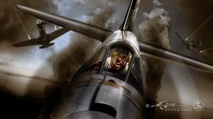 Flying Fury - Hell In The Sky by ProcessedPixels