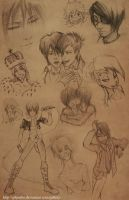 just a sketches 4 by GilJimbo
