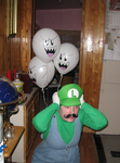 Scared Luigi by SoVeryUnofficial