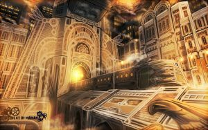 NoM - The Undercity of Artygia by UNGDI-SEA