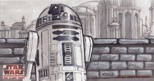 Artoo - chilling on Naboo by kohse