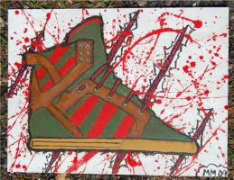 A Skytop On Elm Street-bloody by mikedestructive