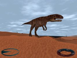 Carnivores Triassic - Megalosaurus Skin by Poharex