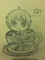 teacup England by HowlForLife