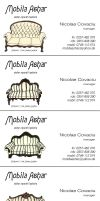 Furniture business cards by Amaltheea