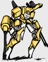 Super Mecha Metabee by Endless-warr