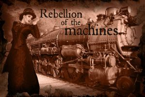 Rebellion of the Machines wallpaper by LadySigynx