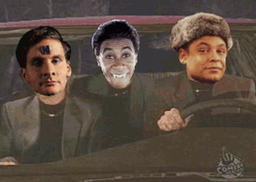 Gif: Cruising With The Red Dwarf Crew by kuranszo