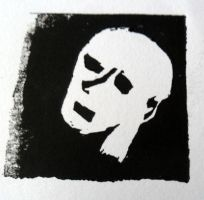 Poverty Lino Print Trial by kay-ler