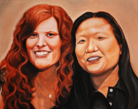 Laurie and Charmaine by theartoflam