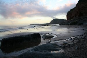 Sidmouth at sunset 2 by Betweenthetwilight