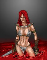 Red Sonja Redux - Prelim by ChrisShields