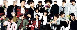 BTS PNG Pack {I Need You Japanese} by kamjong-kai