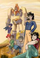 Voltes-V by Dayheart