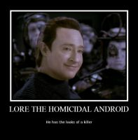 Lore: The Homicidal Android by LadyData