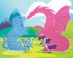Let's Duel by Selective-Yellow