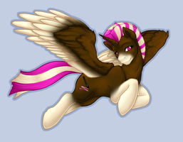 Wind Through her Ponyhawk by ClemiKinkajou