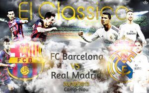 El Classico: FC Barcelona VS Real Madrid 2013/2014 by thenextlover