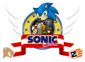 Sonic Unbound Classic Emblem by ProfessorZolo