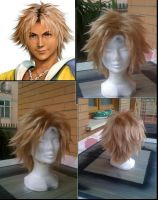 Tidus Wig by Zell-Ecstasy