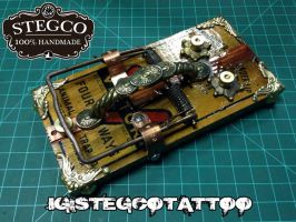 Hand made Tattoo Foot switch Rat trap by Stegco