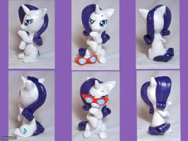 Thinking Rarity Sculpture by CadmiumCrab