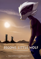 Begone, Little Wolf +Poster+ by SupaCrikeyDave