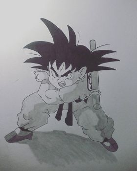 Kid Goku by LilTJ96015