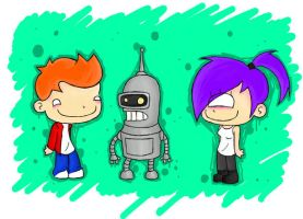 futurama by sprinklexeater