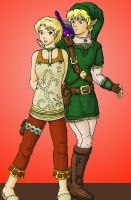 Link and Ilia by EricMHE