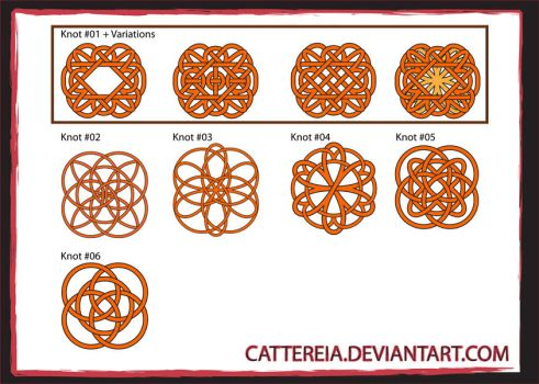 WIP - Celtic Knots by Cattereia
