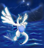 Lugia Rage by Articuno