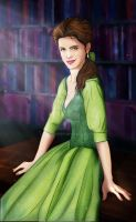 Emma Watson is Belle by LathronAniron