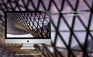 Futuristic Architecture Wallpaper by theminimalisto