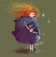 Brave Merida by RonzyLady