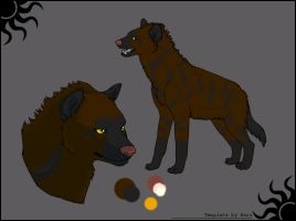 Draw To Adopt - Aardwolf by Pink-Monsterz
