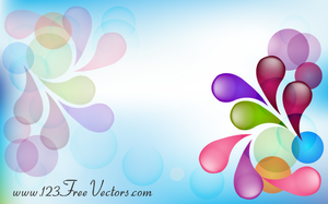 Abstract Colorful Background Vector Image by 123freevectors