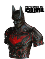 Batman Beyond by iSOHAIL