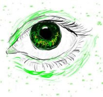 Green Eye by DoomAngel