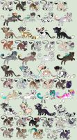 Adoptables May 2014 OPEN [[NOW LOWERED]] by Kainaa