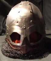 My 1st helm 1.1 by Belgradearmourer