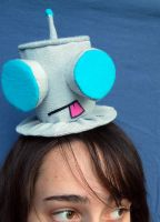 Tiny Top Hat: Robot Gir by TinyTopHats